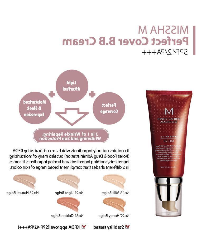 MISSHA Perfect BB Cream 23/ 27/ 31