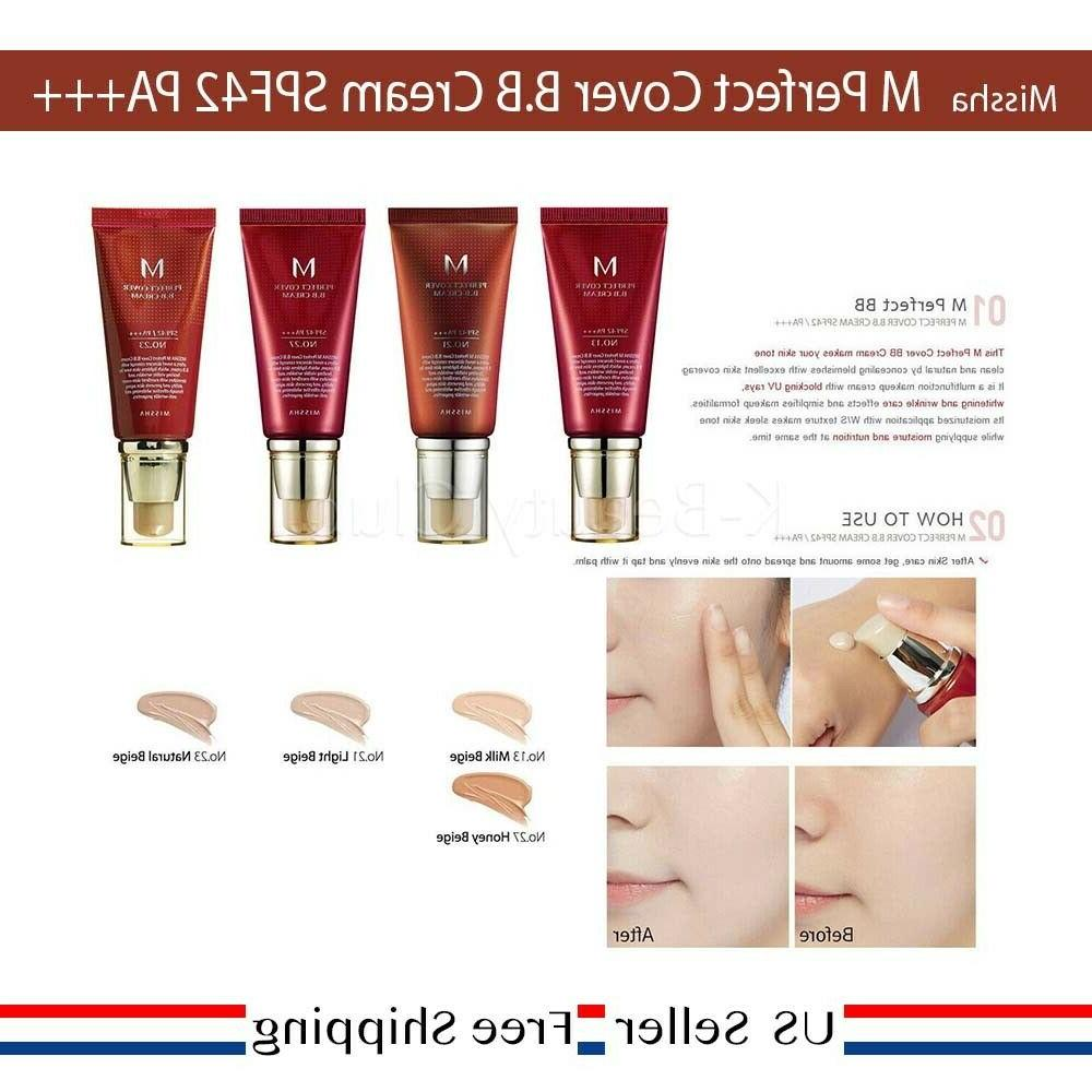 Missha Cover BB Cream SPF PA+++ 50ml No. #21 #23