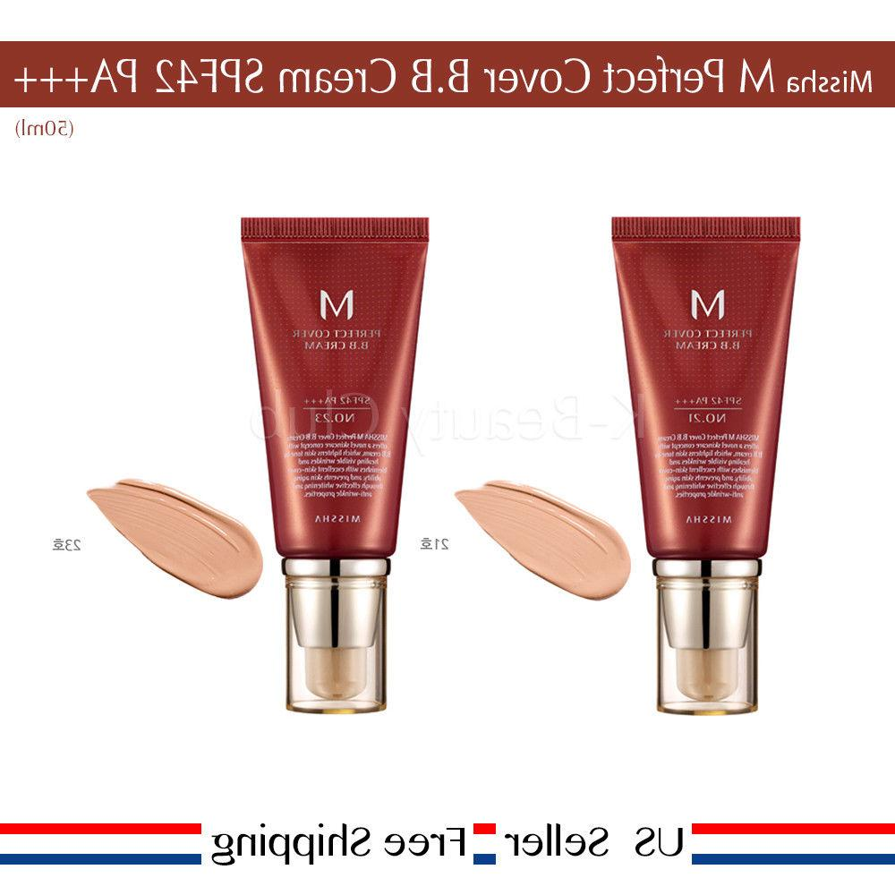 Missha BB PA+++ 50ml #21 #27