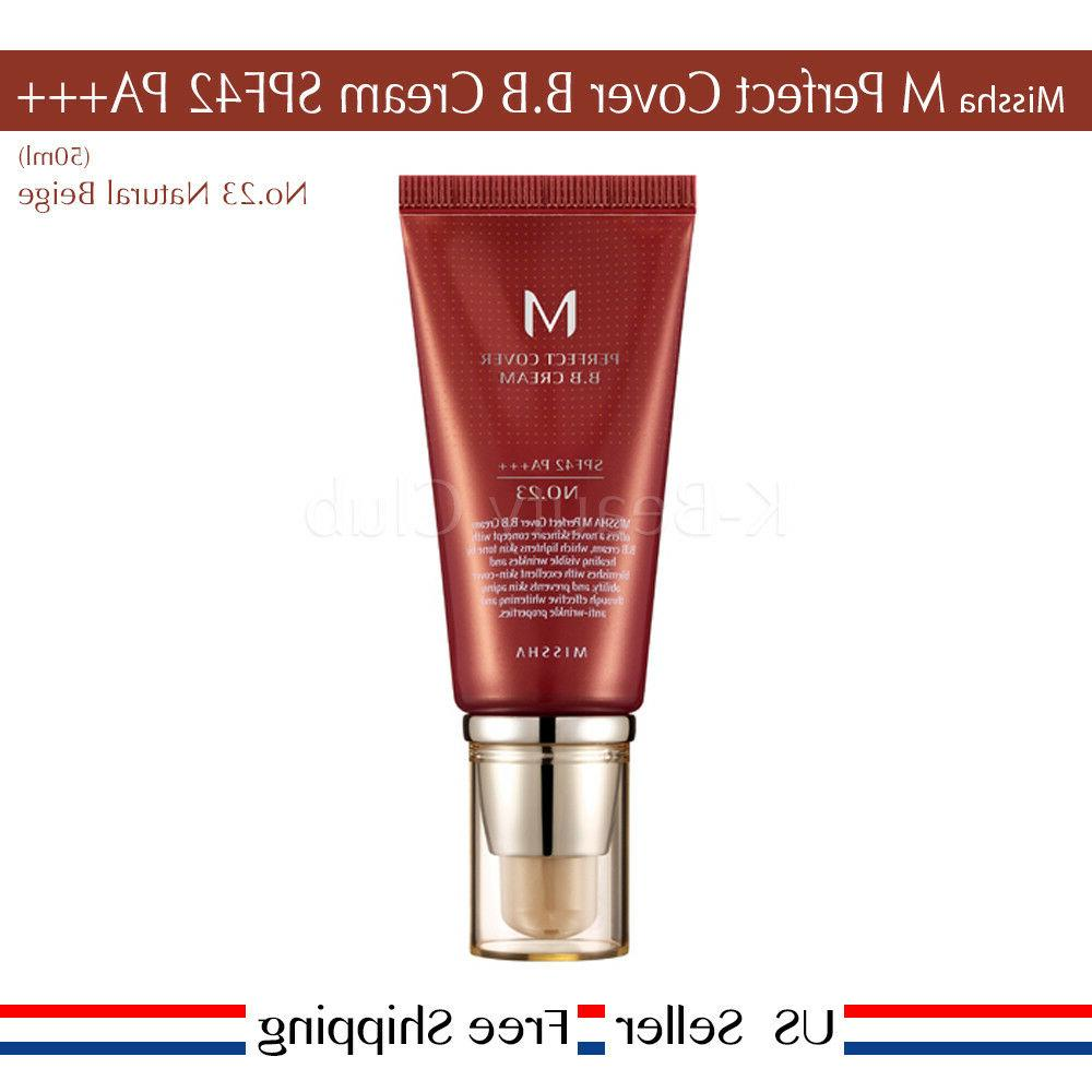 Missha M Perfect Cover BB Cream SPF PA+++ #21 #23 #27