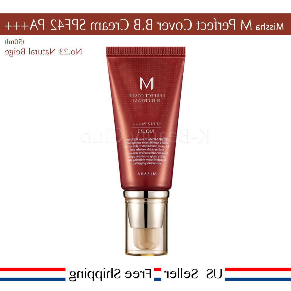 Missha M Perfect Cover BB Cream SPF PA+++ #21 #23 #27