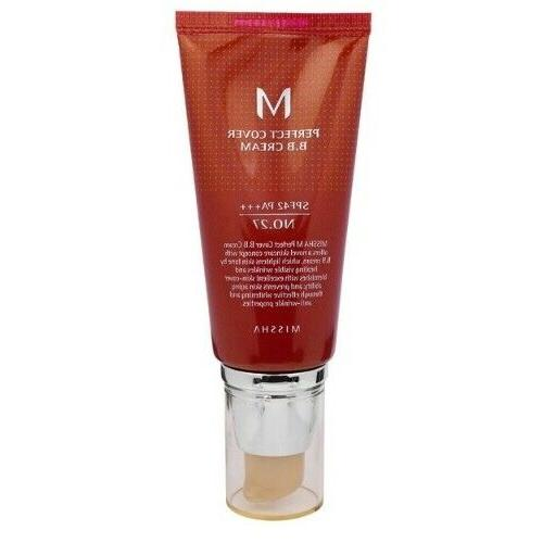 M Perfect Cover BB Cream SPF 42 PA+++ 50ml / Korean Cosmeti