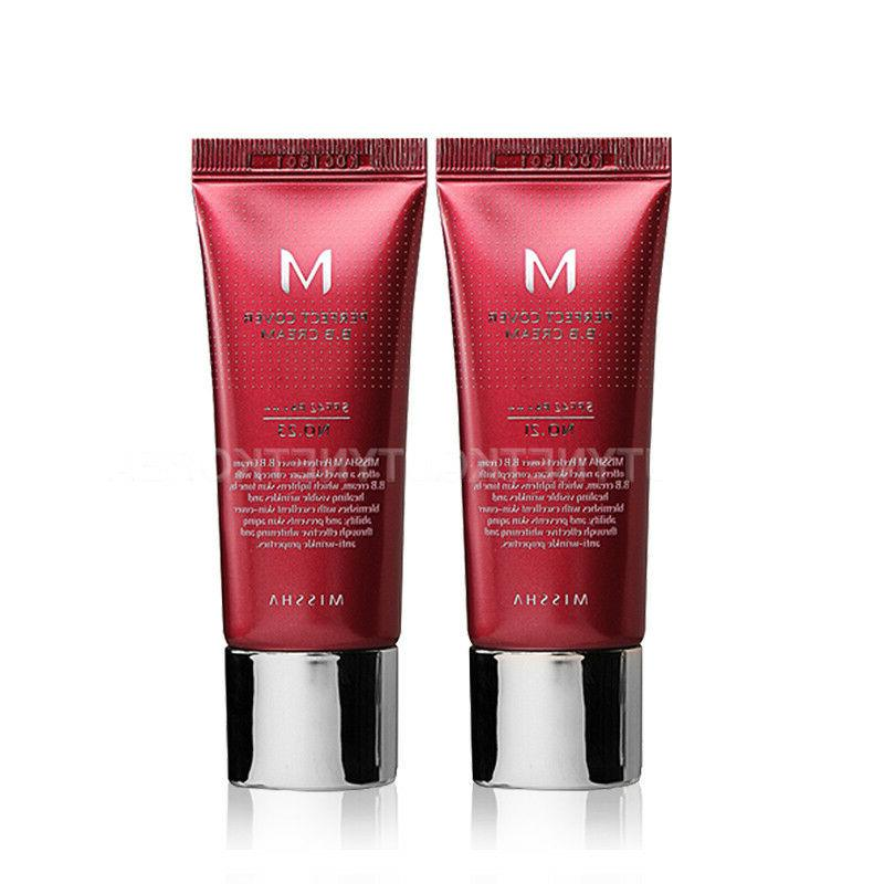 M Perfect Cover BB Cream   2 Color 20ml