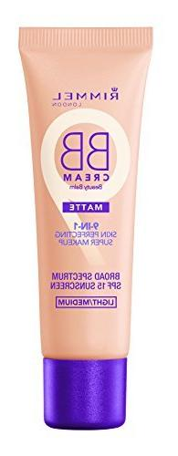 Rimmel Match Perfection BB Cream Foundation Matte, Light Med
