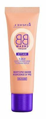 Rimmel Match Perfection BB Cream Foundation Matte, Medium, 1