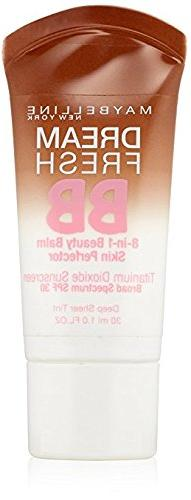 May May belline New York Dream Fresh BB Cream, 140 Deep Shee