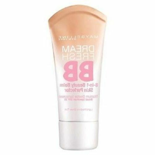 maybelline dream fresh bb cream 8 in