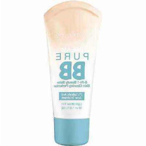 maybelline dream pure bb cream 8 in