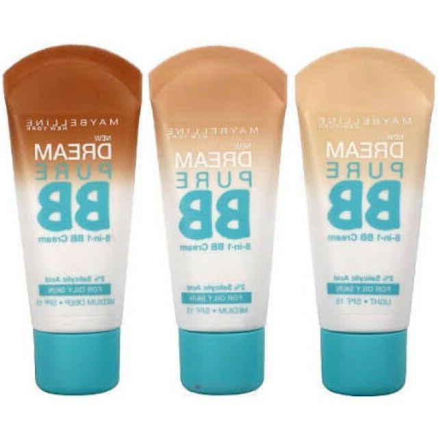 maybelline dream pure bb cream you choose