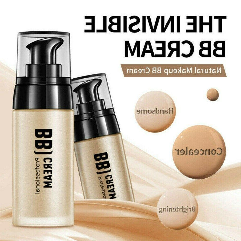 Men Face BB Cream Whitening Sunscreen Skin Care Face Foundat