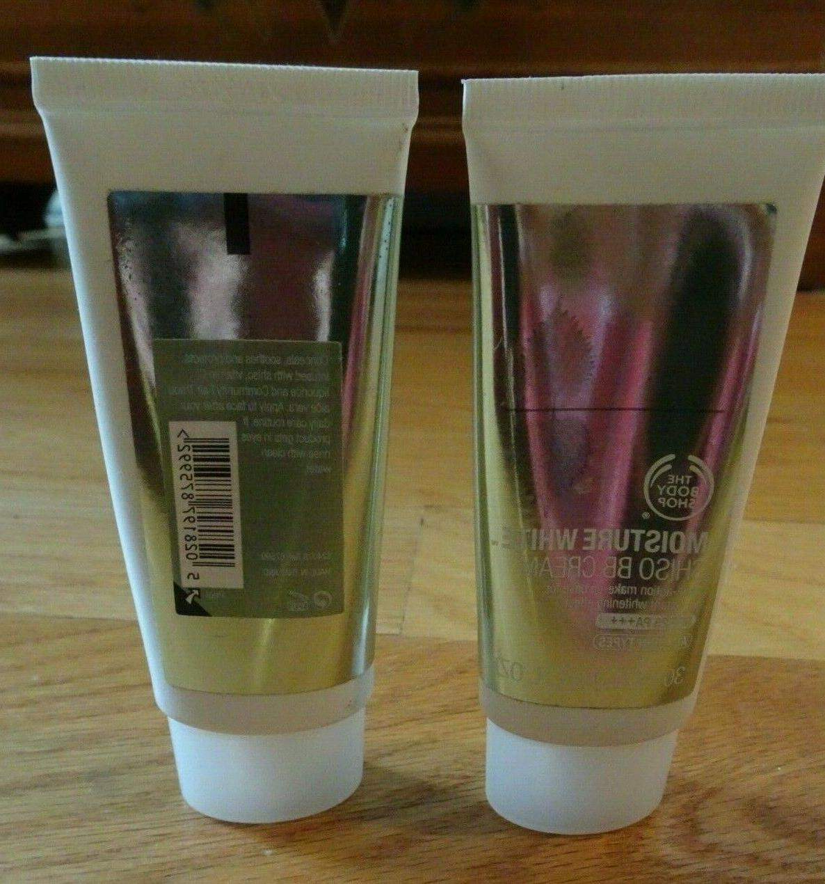 The Body Shop White Makeup 1 oz SPF Two Count