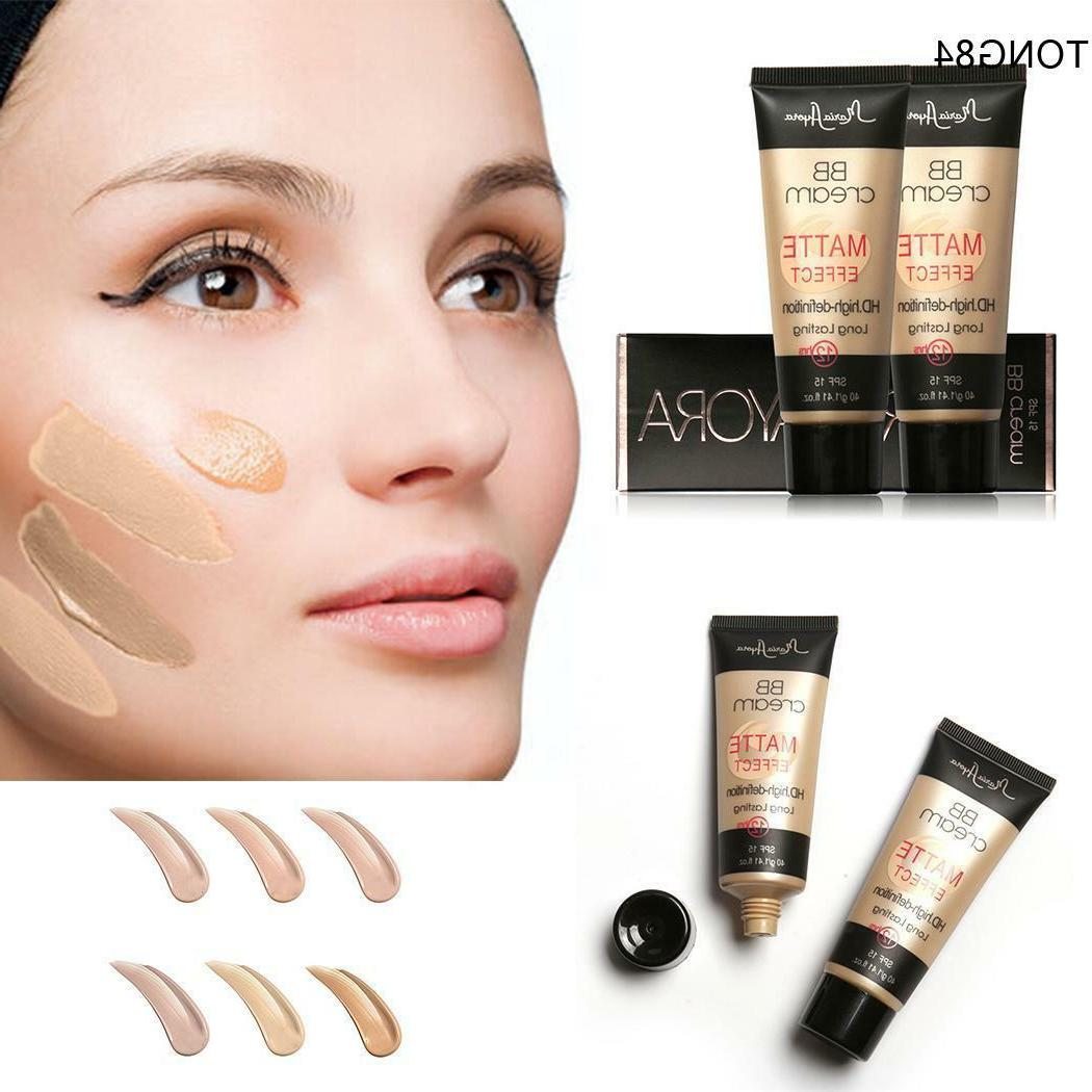 Moisturizer Matte BB Cream Long Lasting Face Foundation Conc