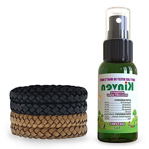 Kinven - Repellent & Spray, Waterproof, DEET-Free, Indoor & Protection for Kids