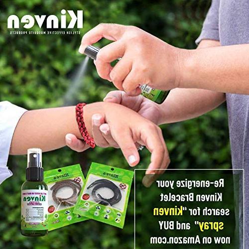 Kinven Mosquito Repellent - & Spray, DEET-Free, Indoor Protection for Kids