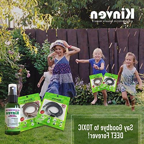 Kinven - Mosquito & DEET-Free, Protection Adults Kids