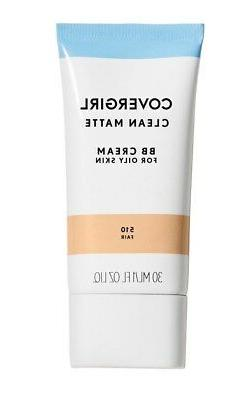 New X1 Covergirl Clean Matte BB Cream For Oily Skin Fair, Li