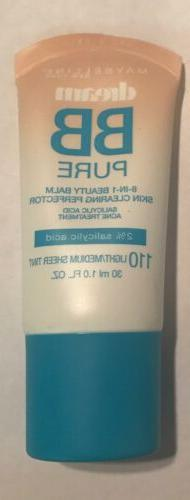 Maybelline NY Dream Pure BB Cream Skin Clearing Perfector #1