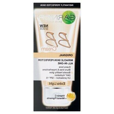 Garnier Original Miracle Skin Perfector All-In-One BB Cream,