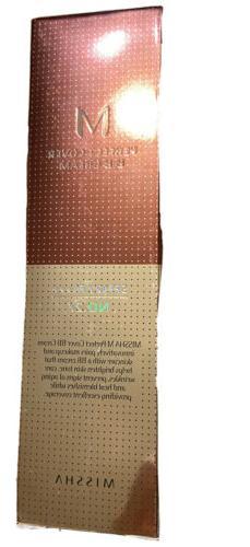 Missha Perfect Cover BB Cream 42 No. 27 Beige Oz New