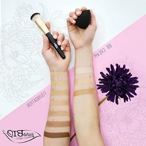 PuroBIO Organic Long-Lasting Anti-Aging BB Cream 02 All Skin Types.Contains Shea Butter. ORGANIC. NICKEL ITALY fl.oz