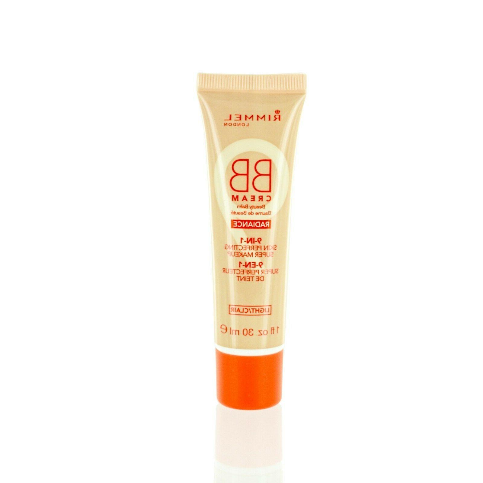 Rimmel London Radiance BB Cream Super Makeup, Light 1.0 oz