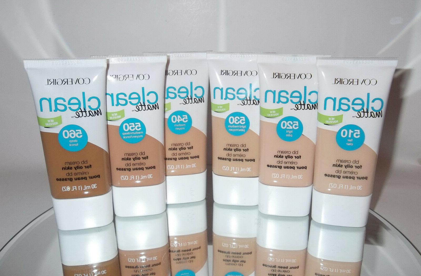 ready clean matte oil free bb cream