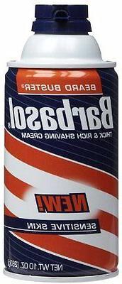Barbasol Sensitive Skin Thick and Rich Shaving Cream, 10 Oun