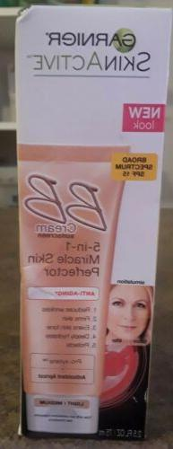 Garnier Skin Renew Miracle Anti-Aging BB Cream SPF 15 Light/