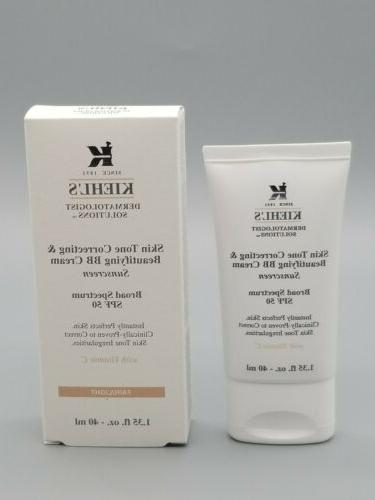 Kiehl's Skin Tone Correcting & Beautifying Bb Cream SPF 50 -