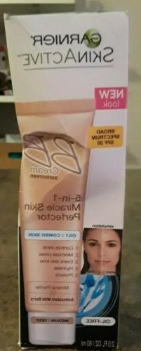 skinactive bb cream face moisturizer for oily
