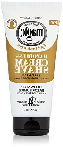 SoftSheen-Carson Magic Razorless Cream Shave - Bald Smooth H