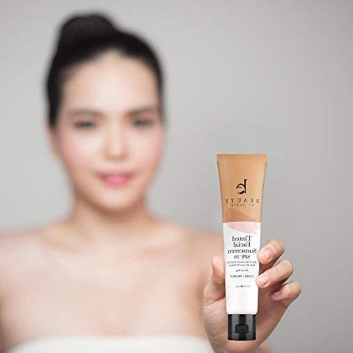 Tinted Sunscreen for - Natural Broad Tinted Zinc Oxide Sunscreen for Facial