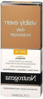 Neutrogena Visibly Even Daily Moisturizer SPF 30 1.70 oz