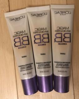 L'Oreal Magic Skin Beautifier BB Cream #812 Light- Lot of 3