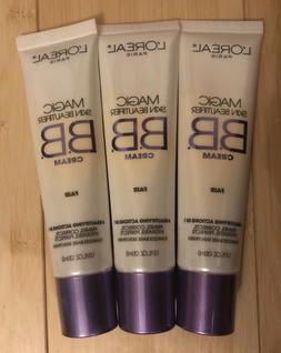 L'Oreal Magic Skin Beautifier BB Cream #810 Fair- Lot of 3