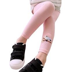Kids Leggings,Morecome Toddler Girls Cute Bird Print Skinny