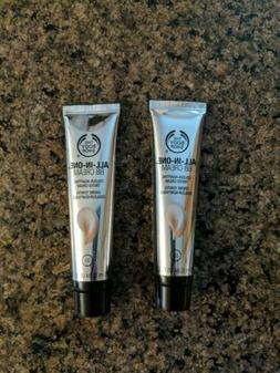 Lot of 2 The Body Shop all-in-one  BB Cream Shade 02 Medium