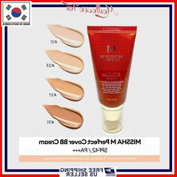 MISSHA M Perfect Cover BB Cream # 21/ 23/ 27/ 31  *US SELLER