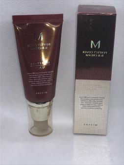 MISSHA M Perfect Cover BB Cream - #21 Light Beige 50ml *NEW*