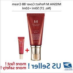 MISSHA M Perfect Cover BB Cream  50ml + BB Cream No.27  -US