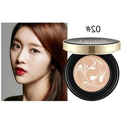 Hunputa Magic BB Cream Air Cushion Compact Korean Cover Foun