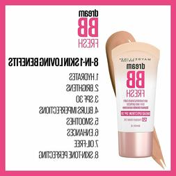 Maybelline Dream Fresh BB Cream 8-in-1 Beauty Balm ~ Choose