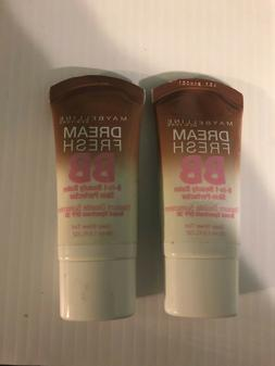Maybelline Dream Fresh BB Cream Deep Sheer Tint Lot Of 2