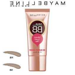Maybelline Pure Mineral BB Cream Super Cover SPF50 PA+++ 30m
