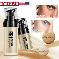 Men BB Cream Whitening Sunscreen Foundation Concealer Base M