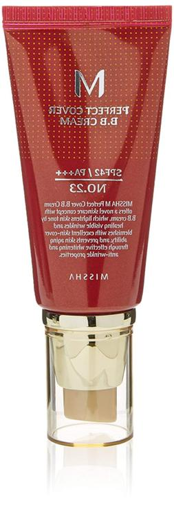 Missha M Perfect Cover No.23 SPF 42/PA+++ BB Cream, Natural
