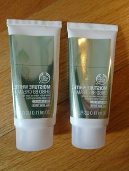 The Body Shop Moisture White Shiso BB Cream Makeup Base 1 oz