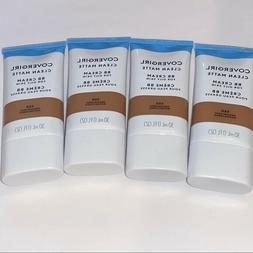 NEW 4 covergirl clean matte bb cream medium/deep shade skin