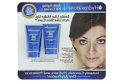 NEW NIP 2 PACK HYDROXATONE ANTI-AGING BB CREAM SPF 40 SUNSCR