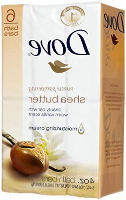 Dove Nourishing Care Shea Butter Beauty Bar, 8 Count, 4.25 O